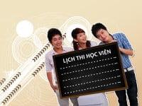 Read more about the article Lịch thi học viên tháng 5/2013