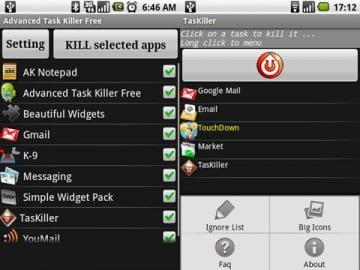 TasKiller – Ứng dụng chạy ẩn cho Android