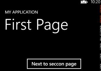 Read more about the article Windows Phone 8 – Cách triển khai việc điều hướng trang
