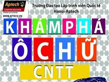 """Hanoi-Aptech: Cuộc chơi sáng tạo """"Khám phá ô chữ công nghệ thông tin"""""""