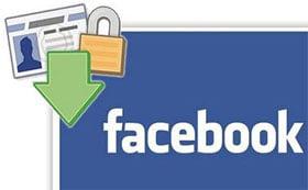 Giúp bạn sao lưu dữ liệu Facebook vào máy tính