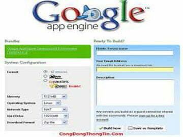 Google App Engine, không khó để sử dụng