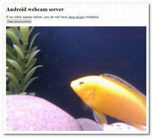 Mẹo biến điện thoại Android thành camera giám sát