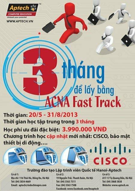 hanoiaptech116 Sẵn sàng trải nghiệm với khóa học Quản trị mạng Fast Track đến từ Hanoi Aptech
