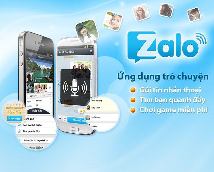 Zalo – Ứng dụng gọi điện miễn phí