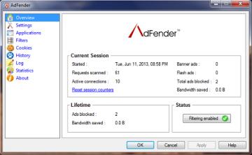 AdFender – Chặn quảng cáo triệt để