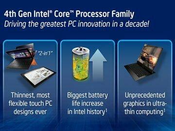 5 điều cần biết về chip Haswell mới của Intel