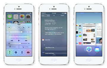 """Read more about the article 15 ứng dụng bị Apple """"báo tử"""" bằng iOS 7"""