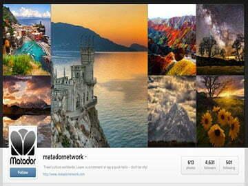 Vòng quanh thế giới với 10 tài khoản Instagram