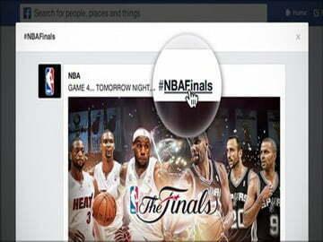 Facebook hỗ trợ hashtag giúp người dùng tạo chủ đề thảo luận