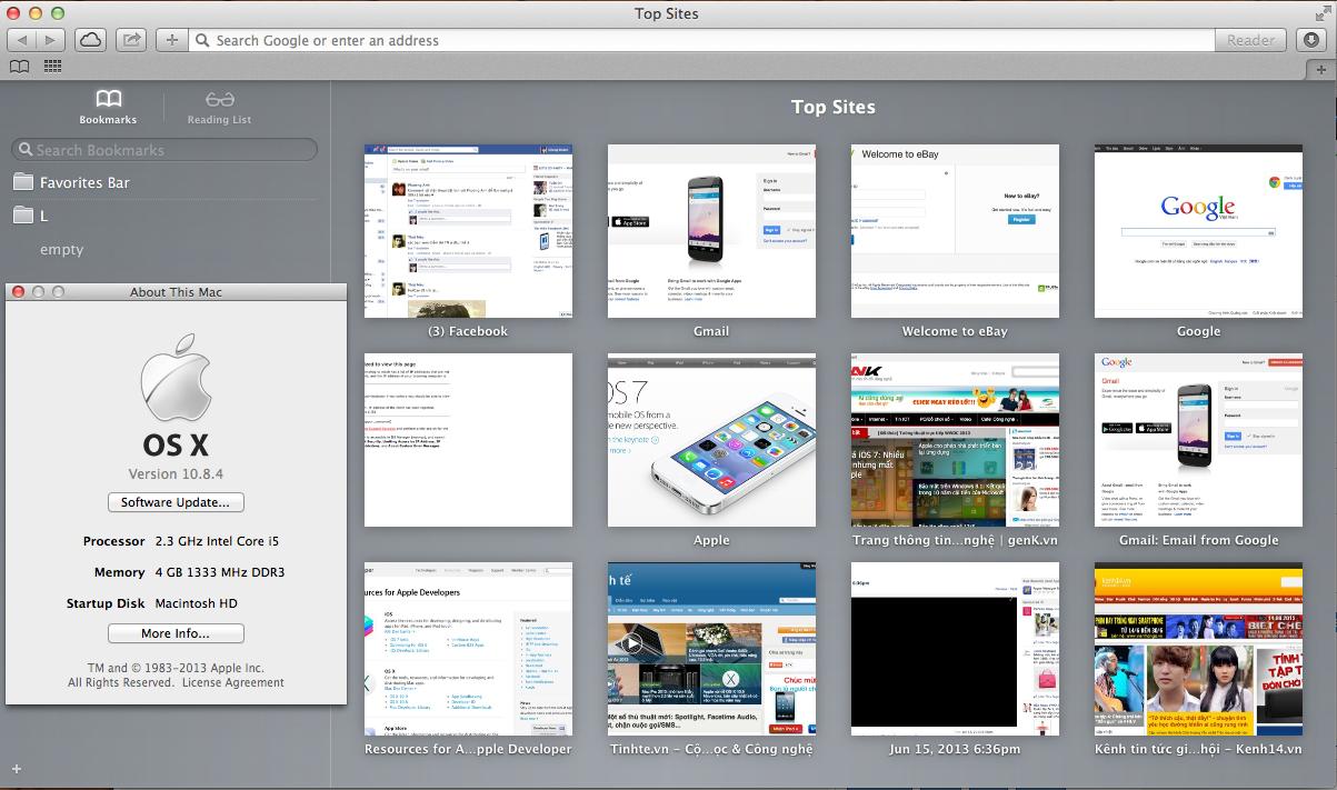 Read more about the article Hướng dẫn cài Safari trên OS X Mavericks 10.9 cho OS X 10.8
