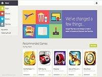 Google Play Store nền web được làm mới theo phong cách Android