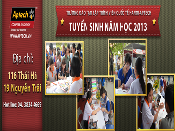 Chương trình ACCP 2013 tại Hanoi- Aptech – Học là để được tuyển dụng