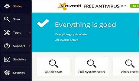 Cái nhìn đầu tiên về Avast Antivirus 2014