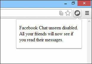 """Vô hiệu hóa chữ """"Seen"""" sau khi nhận tin nhắn trên Facebook- 4"""
