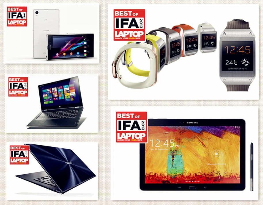 """5 """"tuyệt phẩm"""" công nghệ không thể bỏ qua tại IFA 2013"""