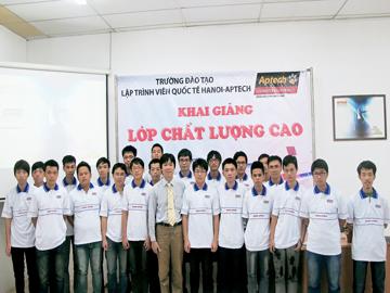 Hanoi – Aptech đào tạo bạn thành lập trình viên chất lượng cao