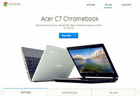 """Google """"bắt tay"""" Intel, Asus và Toshiba sản xuất Chromebook mới-2"""
