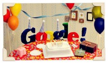 Google đã chính thức bước sang tuổi 15