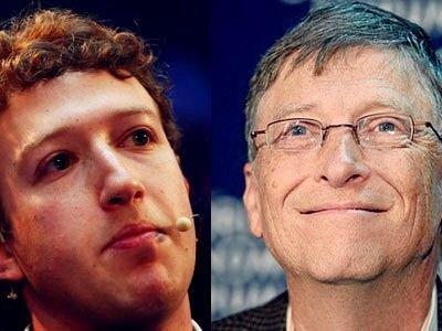 """""""Người hùng"""" trong lòng CEO Facebook chính là Bill Gates-1"""