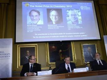 Các công trình thực nghiệm trên máy tính giành chiến thắng tại Giải Nobel Hóa Học 2013