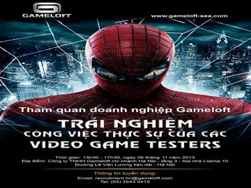 Read more about the article Học viên Hanoi – Aptech thăm quan và thử vị trí Video Game Tester tại Gameloft