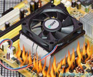 Giải pháp giúp bạn khi máy tính quá nóng