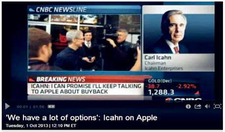 """""""Kẻ đột kích"""" muốn Apple nhanh chóng mua lại cổ phiếu từ cổ đông"""