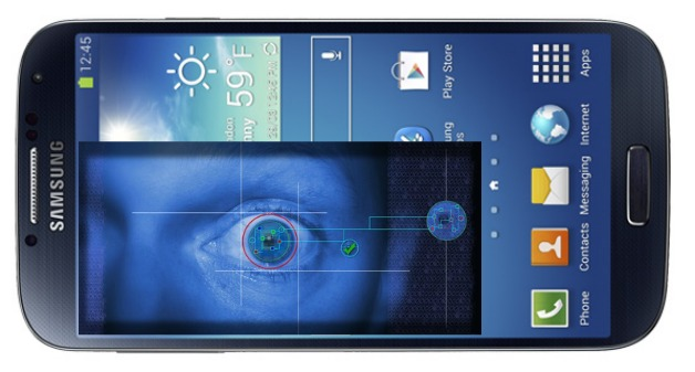 Samsung Galaxy S5 với công nghệ cảm biến quét cử chỉ mắt