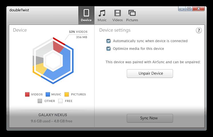 """doubleTwist được ví như """"iTunes của Android"""" vừa ra mắt phiên bản mới với nhiều cải tiến về giao diện và tính năng giúp cho việc đồng bộ thiết bị chạy Android và máy tính trở nên đơn giản và dễ dàng hơn bao giờ hết."""