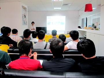 Học viên Hanoi – Aptech  trải nghiệm thực tế tại Game Loft Việt Nam