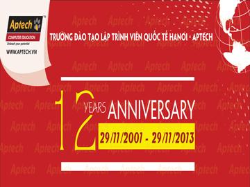 """Hanoi – Aptech đón sự kiện sinh nhật tuổi 12 bằng học bổng """"Tôi đã chọn"""""""