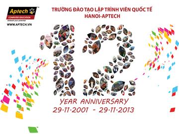 Read more about the article Hanoi- Aptech, sinh nhật 12 tuổi và một hành trình chuyển giao tri thức
