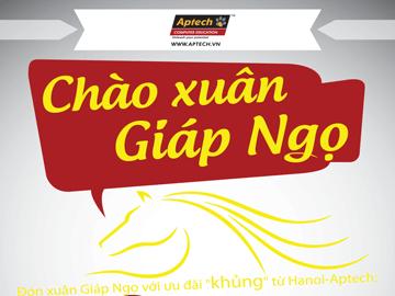 """Read more about the article Đón """"mưa quà tặng"""" Chào Xuân Giáp Ngọ cùng Hanoi- Aptech"""