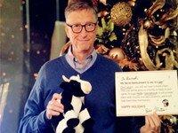 """Bill Gates và món quà Giáng Sinh """"bí mật"""""""