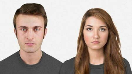 """""""Chân dung"""" tiến hóa của khuôn mặt loài người 100.000 năm tới-1"""