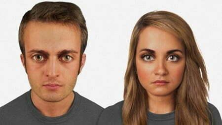 """""""Chân dung"""" tiến hóa của khuôn mặt loài người 100.000 năm tới-3"""