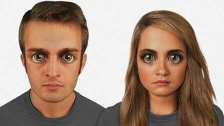 """""""Chân dung"""" tiến hóa của khuôn mặt loài người 100.000 năm tới-4"""