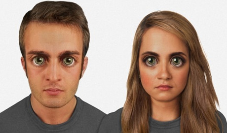 """Read more about the article """"Chân dung"""" tiến hóa của khuôn mặt loài người 100.000 năm tới"""