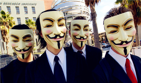 """Một phút làm hacker Anonymous """"đắt đỏ"""""""
