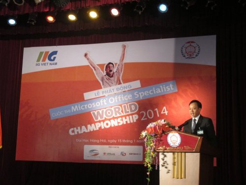 Cuộc thi Vô địch Tin học Văn phòng 2014 trên toàn quốc-1