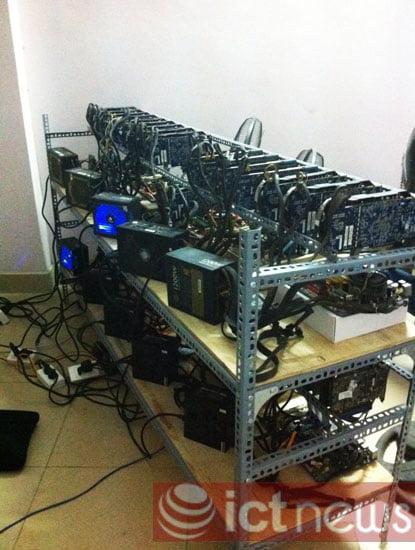 """Cận cảnh dàn máy """"đào"""" Bitcoin """"khủng"""" tại Hà Nội-3"""
