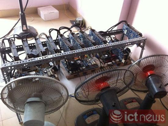 """Cận cảnh dàn máy """"đào"""" Bitcoin """"khủng"""" tại Hà Nội-7"""