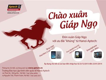 """Read more about the article Cùng Hanoi- Aptech bắt sóng lập trình """"Chào Xuân Giáp Ngọ"""""""