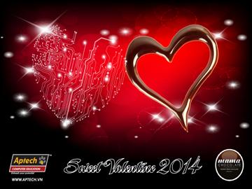 Nhận quà Couple Valentine cực ngọt ngào cùng Hanoi-Aptech