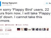 Flappy Bird sẽ bị khai tử trong ngày hôm nay