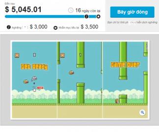 TechCrunch kêu gọi góp tiền sang Việt Nam để phỏng vấn tác giả Flapppy Bird
