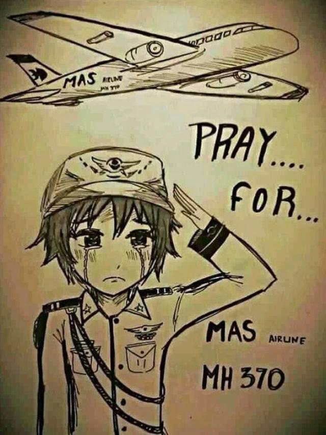 Thế giới mạng gửi lời chia buồn chân thành tới những nạn nhân máy bay MH370-3