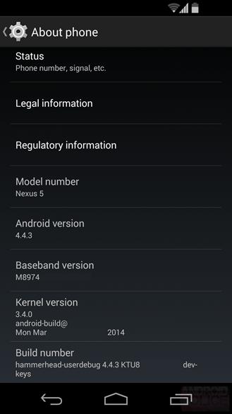 """Android 4.4.3 """"ra mắt"""" tính năng mới tập trung vào sửa lỗi-1"""