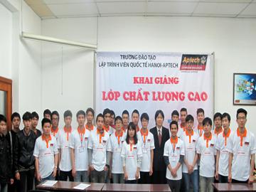 Hanoi – Aptech đón các tân lập trình viên chất lượng cao nhập trường